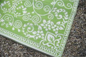 Fab Rugs World Murano Lime Green Indoor Outdoor Area Rug