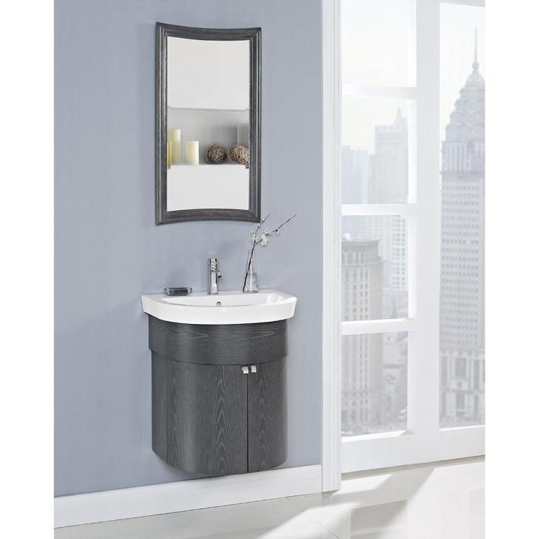 Fairmont Designs Boulevard Curved Wall Mount Vanity
