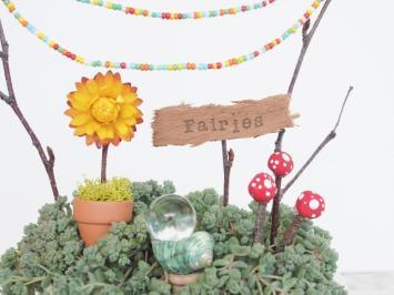 Fairy Garden Tea Cup Miniature Diy Tutorial