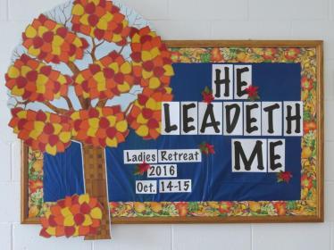Fall Bulletin Board Inspiration