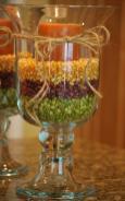Fall Decorating Hurricane Vases Amanda Jane Brown