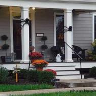 Fall Entryway Decorating Ideas Halloween Porch