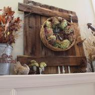 Fall Mantel Ideas Autumn Mantle Home Stories