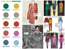 Fall Winter 2016 2017 Color Trends Top Pantone Colors