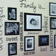 Family Frame Wall Ideas