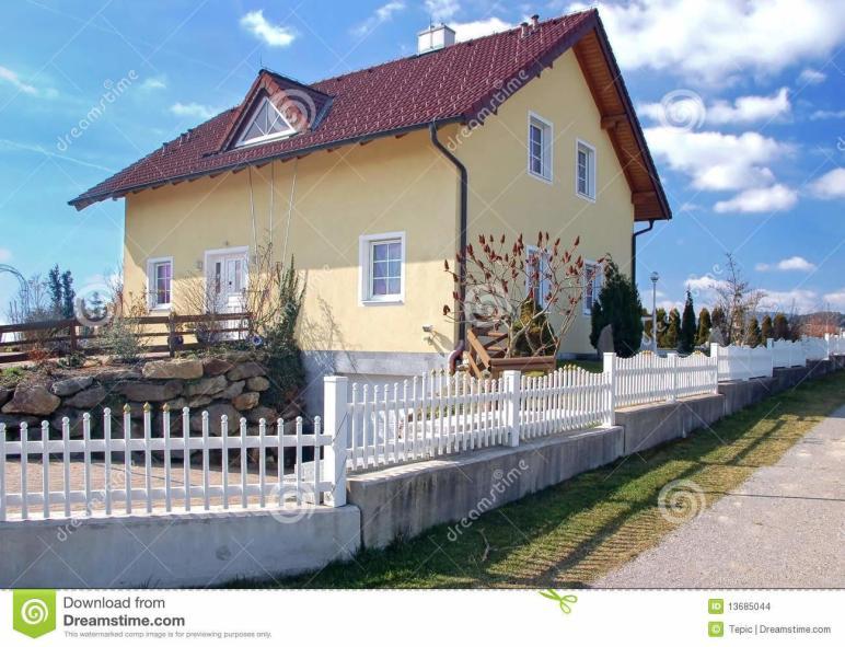 Family House Austria Stock