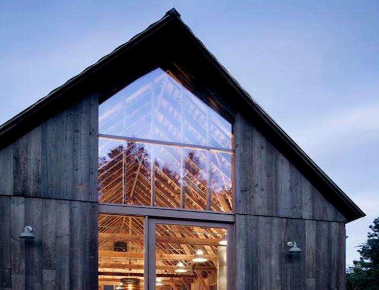 Family Renovates Century Old Barn Into Stunning Modern