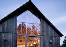 Family Renovates Century Old Barn Into Stunning Modern
