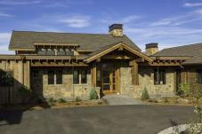 Family Retreat Blends Modern Rustic Rocky Mountain Views