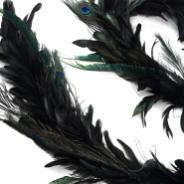 Feather Garland Schlappen Peacock Garlands