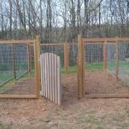 Fence Our Vegetable Garden Farmer Daughter