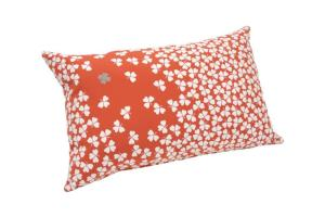 Fermob Trefle Outdoor Cushion Coral Discontinued