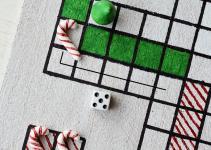 Festive Fun Diy Christmas Board Game Motte