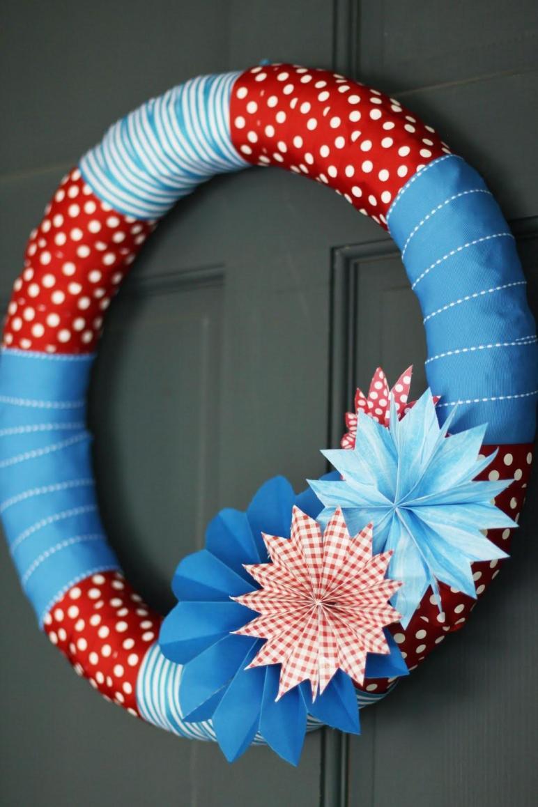 Festive July 4th Diy Wreaths Easy Simple Inspired