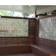 Floral Geo Decorative Screen Design Screens