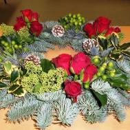 Flower Arrangement Ideas Christmas Inspired Luv