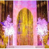 Foil Fringe Curtain Singapore Menzilperde