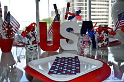 Fourth July Tablescape Celebrate Decorate