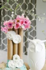 Fresh Diy Flower Vase Home Idea