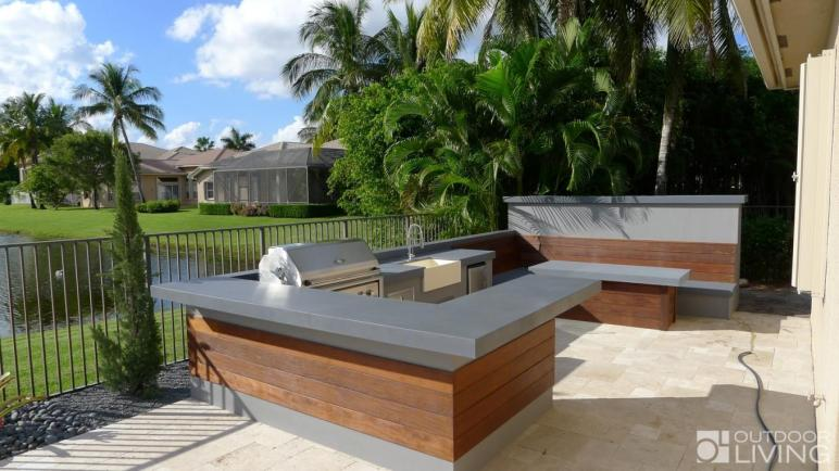 Fresh Modern Outdoor Kitchens