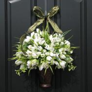 Front Door Decorations Christmas Eve House Decor