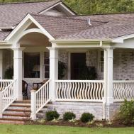 Front Porch Designs Brick Homes Decoto