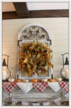 Front Porch Yours Fall Mantel 2015 Farmhouse