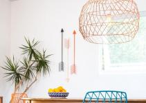 Function Style Combine Bend Wire Decor