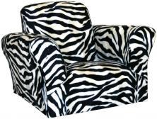 Furniture Amusing Zebra Print Saucer Chair