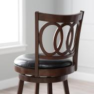 Furniture Swivel Bar Stools Backs