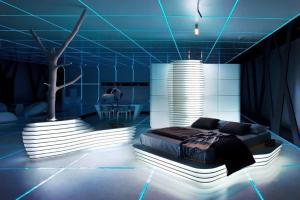 Futuristic Bedroom Design Ideas