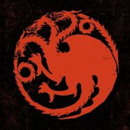 Game Thrones House Targaryen Logo Fantasy Ka112 Room