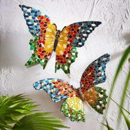 Garden Butterfly Outdoor Fence Decor Ideas
