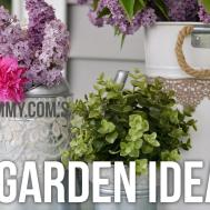 Garden Diy Ideas Easy Upcycled Craft Projects
