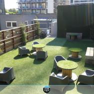 Garden Modern Roof Terrace Simple