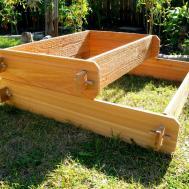 Garden Raised Bed Planter Flower Box Cedar Vegetable Kit