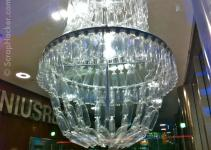Genius Bottle Amazing Plastic Chandelier