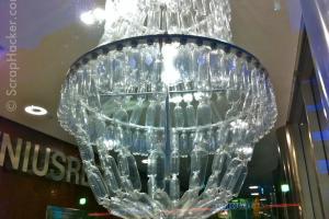 Genius Bottle Amazing Plastic Chandelier