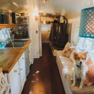 Georgia Couple Converts School Bus Into Tiny House