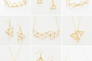 Get Geometric Modern Jewelry Diy Brit