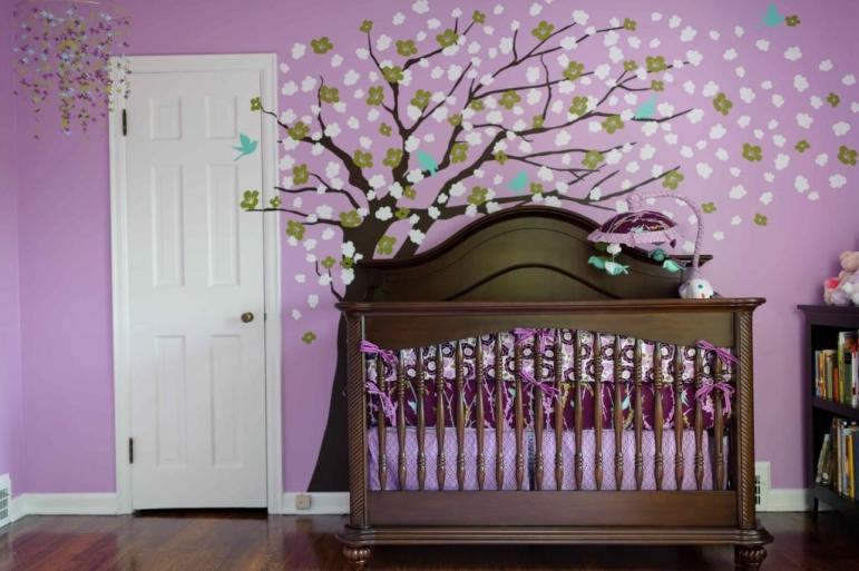 Girl Nurseries Inspire