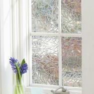 Glue Waterproof Pvc Privacy Window Film Decoration