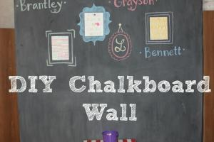 Goat Lulu Diy Chalkboard Wall