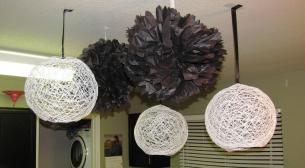 Gorgeous Yarn Lanterns