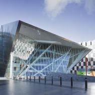 Grand Canal Theatre Daniel Libeskind Archdaily