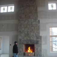 Granite Building Projects Solid Rock Walls Fireplaces
