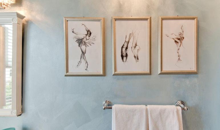 Green Bathroom Wall Decoration Ideas Trellischicago