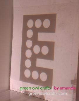 Green Owl Crafts Diy Marquee Sign Eat Dinning Room
