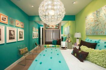 Green Turquoise Bedroom Ideas Rachael Edwards