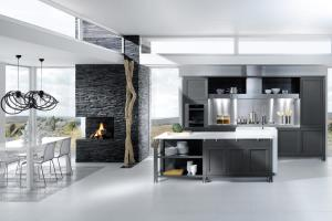 Grey White Kitchen Design Stylehomes
